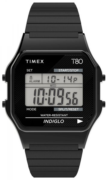 Zegarek damski Timex t80 TW2R67000 - duże 1