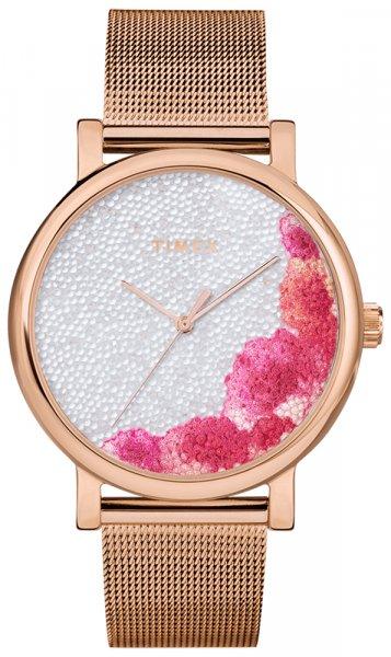 Zegarek damski Timex full bloom TW2U18700 - duże 1