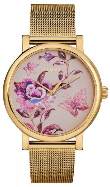 Zegarek damski Timex full bloom TW2U19400 - duże 1