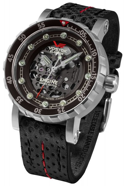 Vostok Europe NH72A-571A646 Engine Engine Skeleton Limited Edition Automatic