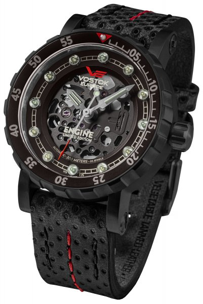 Vostok Europe NH72A-571C647 Engine engine Skeleton Limited Edition Automatic