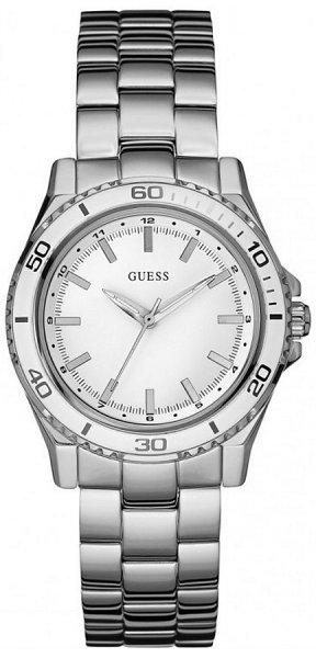 Zegarek damski Guess bransoleta W0557L1 - duże 1
