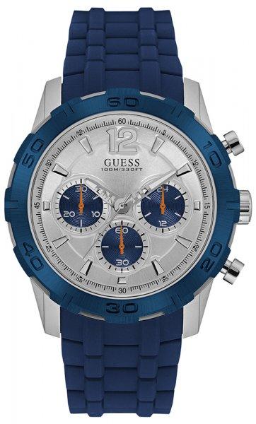 Zegarek męski Guess pasek W0864G6 - duże 1