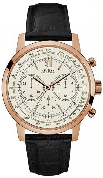 Zegarek męski Guess pasek W0916G2 - duże 1
