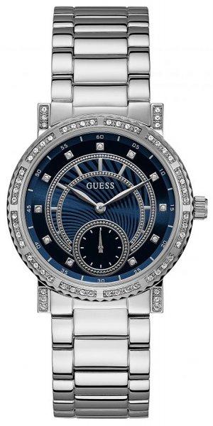 Zegarek damski Guess bransoleta W1006L1 - duże 1