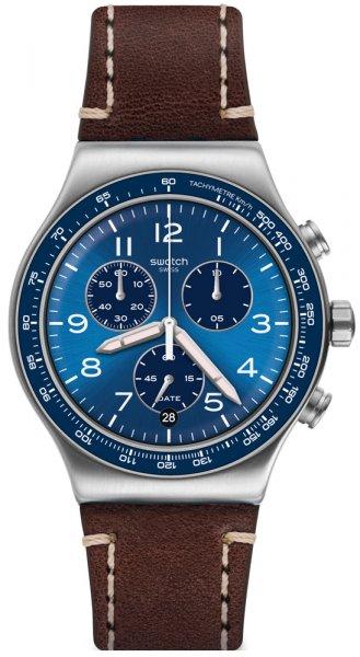 Swatch YVS466 Irony Chrono CASUAL BLUE