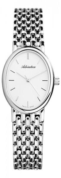 Zegarek damski Adriatica bransoleta A3436.5113Q - duże 3
