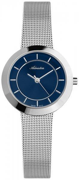 Zegarek damski Adriatica bransoleta A3645.5115Q - duże 3