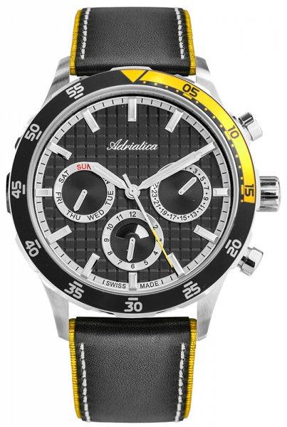 Zegarek męski Adriatica pasek A8247.Y214CH - duże 1