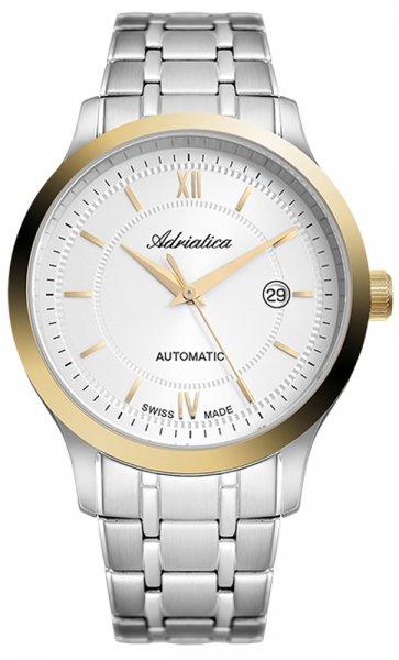 Zegarek Adriatica Automatic - męski - duże 3