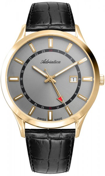 A8289.1217Q - zegarek męski - duże 3