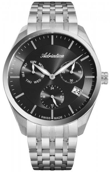 Zegarek męski Adriatica bransoleta A8309.5116QF - duże 1