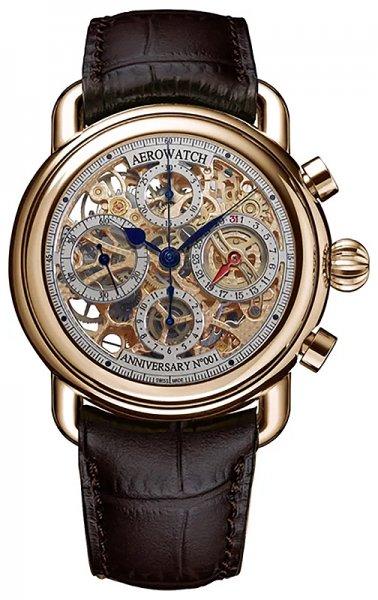 61901-R120-SQ - zegarek męski - duże 3