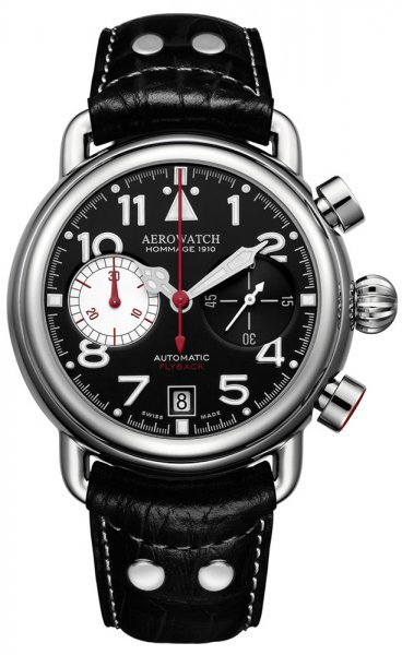 Aerowatch 72945-TI01 Hommage 1910 HOMMAGE 1910 CHRONO FLYBACK LIMITED EDITION