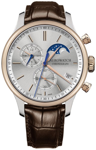Aerowatch 78986-BI03 Renaissance RENAISSANCE CHRONO MOON PHASES