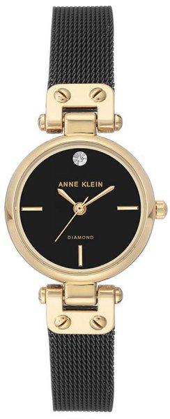 Zegarek damski Anne Klein bransoleta AK-3003BKBK - duże 3
