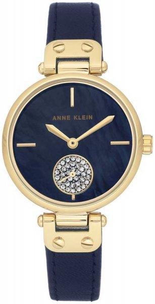 Zegarek damski Anne Klein pasek AK-3380NMNV - duże 3