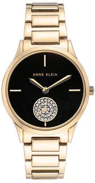 Zegarek Anne Klein AK-3416BKGB - duże 1