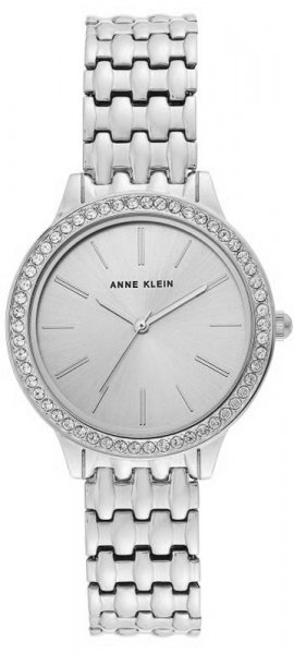 Zegarek damski Anne Klein bransoleta AK-3421SVSV - duże 1