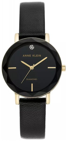Zegarek Anne Klein AK-3434BKBK - duże 1