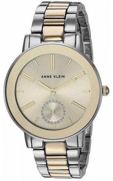 Zegarek damski Anne Klein bransoleta AK-3485CHTT - duże 1