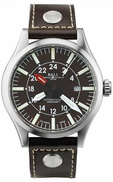GM1086C-LJ-BR - zegarek męski - duże 3