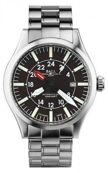 GM1086C-SJ-BR - zegarek męski - duże 3