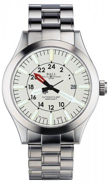 GM1086C-SJ-WH - zegarek męski - duże 3