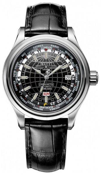 GM2020D-LCJ-BK - zegarek męski - duże 3