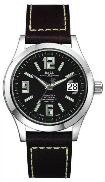 NM1020C-L4-BK - zegarek męski - duże 3