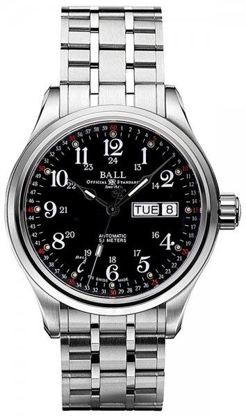 NM1058D-S3J-BK - zegarek męski - duże 3