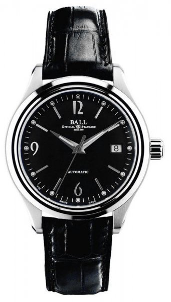 NM1060D-LJ-BK - zegarek męski - duże 3