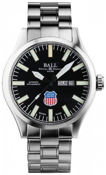 NM1080C-S2-BK - zegarek męski - duże 3