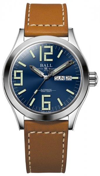 NM2026C-LBR7-BE - zegarek męski - duże 3