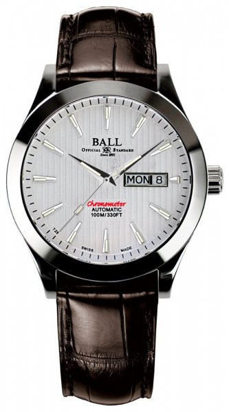 NM2026C-LCJ-WH - zegarek męski - duże 3