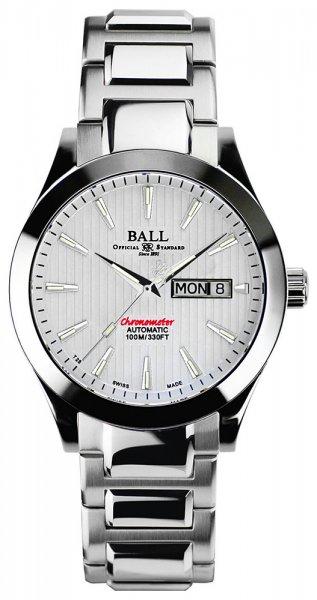 NM2026C-SCJ-WH - zegarek męski - duże 3
