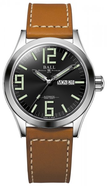 NM2028C-LBR7-BK - zegarek męski - duże 3