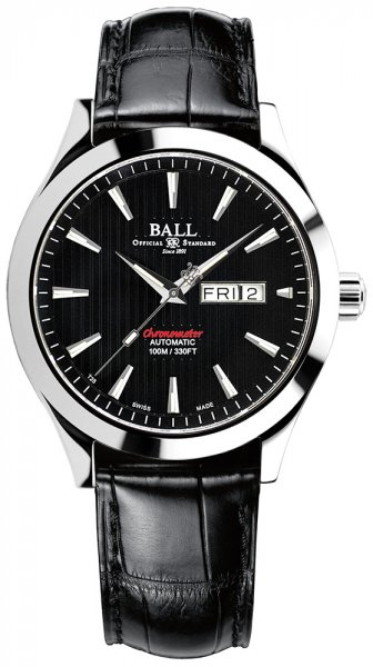 NM2028C-LCJ-BK - zegarek męski - duże 3
