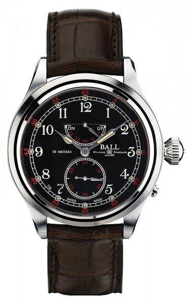 NM2058D-LFJ-BK - zegarek męski - duże 3