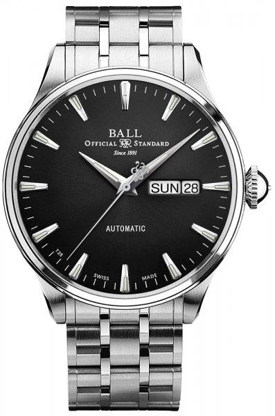 NM2080D-S1J-BK - zegarek męski - duże 3