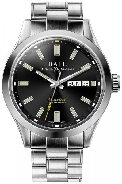 NM2182C-S4C-BK - zegarek męski - duże 3