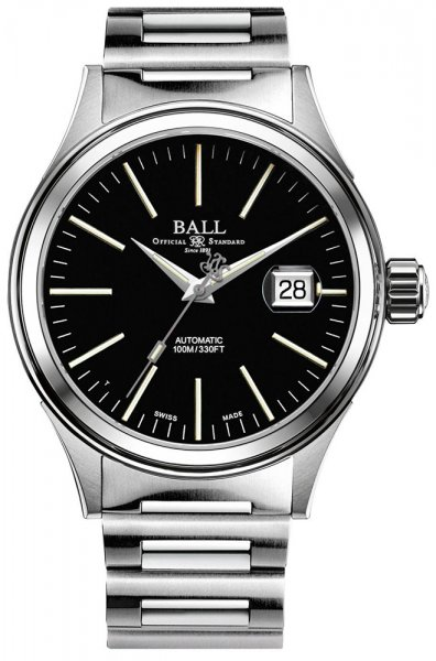 NM2188C-S5-BK - zegarek męski - duże 3
