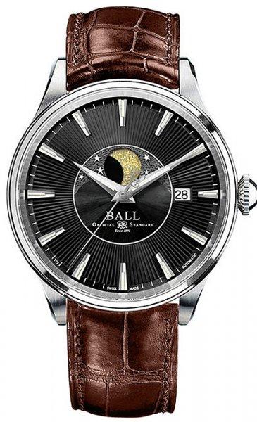 NM3082D-LLFJ-BK - zegarek męski - duże 3