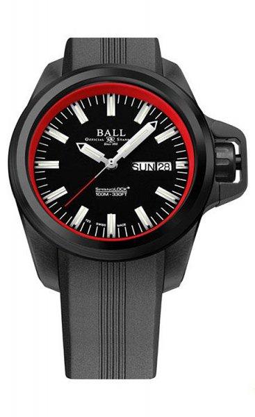 NM3200-P1J-BKRD - zegarek męski - duże 3
