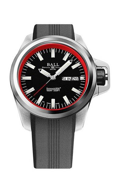 NM3200-PJ-BKRD - zegarek męski - duże 3