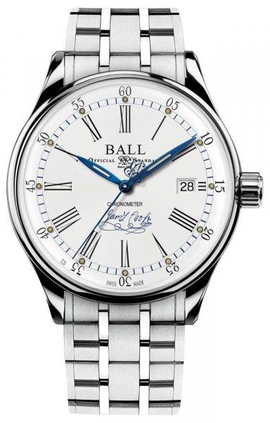 Zegarek Ball NM3288D-S2CJ-WH - duże 1