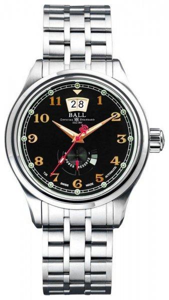 PM1058D-SJ-BK - zegarek męski - duże 3