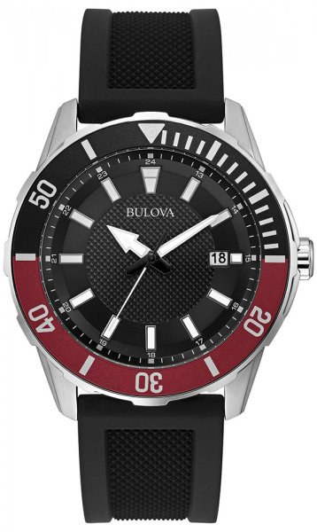 Zegarek męski Bulova męskie 98B348 - duże 1