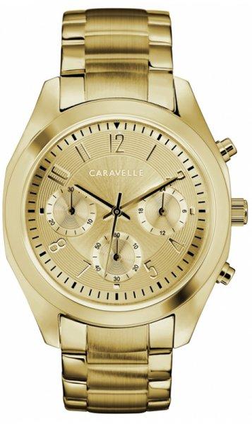 Zegarek damski Caravelle bransoleta 44L238 - duże 1