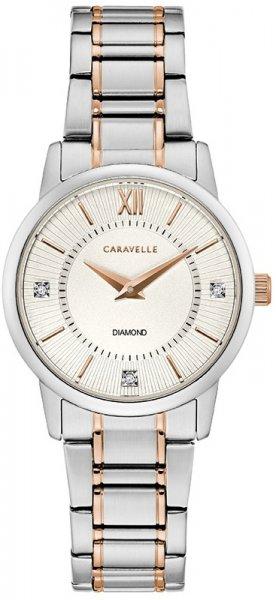 Zegarek Caravelle 45P110 - duże 1